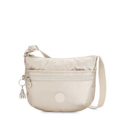 Arto Small Metallic Crossbody Bag