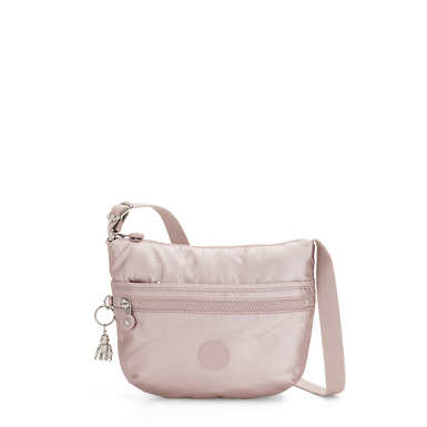 Arto Small Metallic Crossbody Bag