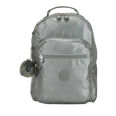 Clas Seoul Large Laptop Backpack - Metallic Stony