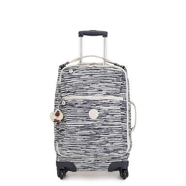 Darcey Small Carry-On Rolling Luggage - Scribble Lines