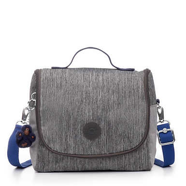New Kichirou Lunch Bag - ASH DENIM BLOCK
