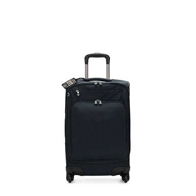 Youri Spin 55 Small Luggage - Blue Bleu