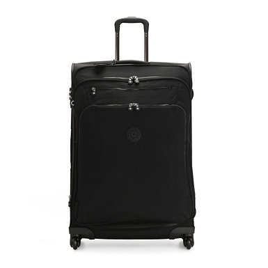 키플링 유리 스핀 78 캐리어 라지 Kipling Youri Spin 78 Large Luggage,Black Noir