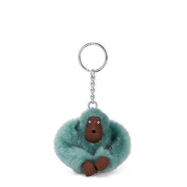 Sven Monkey Keychain - Aqua Frost