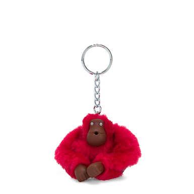 Sven Monkey Keychain - True Pink
