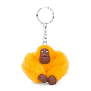 Monkey Keychain - Vivid Yellow
