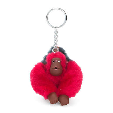 Monkey Keychain - True Pink/ True Blue