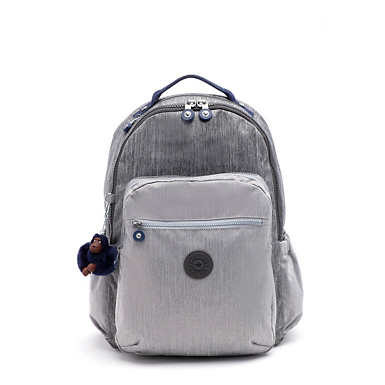 "Seoul Go Large 15"" Laptop Backpack - ASH DENIM BLOCK"