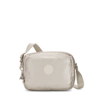 Silen Metallic Crossbody Bag - Cloud Metal