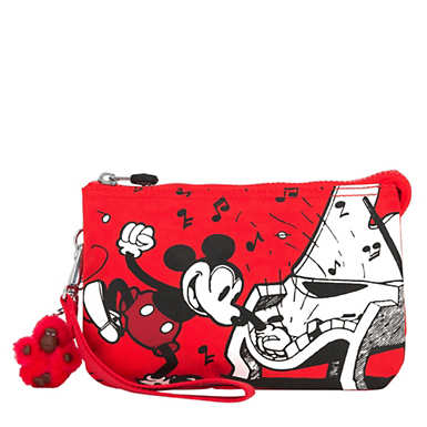 Disney's 90 Years of Mickey Mouse Creativity Extra Large Pouch - Music To My Ears