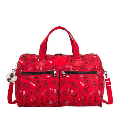 Disney's 90 Years of Mickey Mouse Itska Duffel Bag - Sketch Red