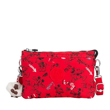 Disney's 90 Years of Mickey Mouse Riri Crossbody Bag - Sketch Red