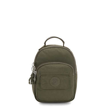 Alber 3-In-1 Convertible Mini Bag Backpack - Jaded Green