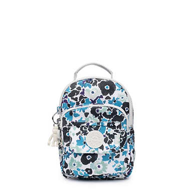 키플링 Kipling Alber3-In-1 Convertible Mini Bag Printed Backpack,Field Floral