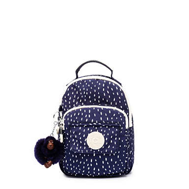 Alber 3-In-1 Convertible Mini Bag Printed Backpack