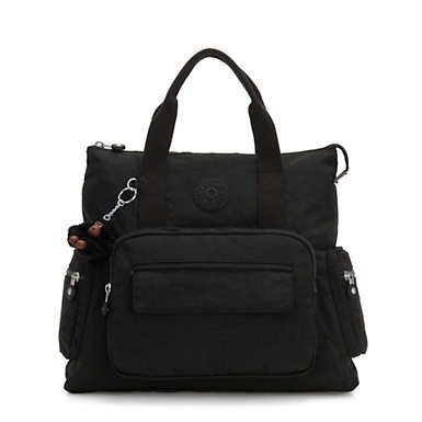 키플링 Kipling Alvy 2-In-1 Convertible Tote Bag Backpack,True Black