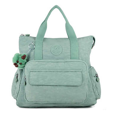 Alvy 2-In-1 Convertible Tote Bag Backpack - Fern Green T