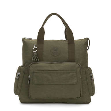 Alvy 2-In-1 Convertible Tote Bag Backpack - Jaded Green
