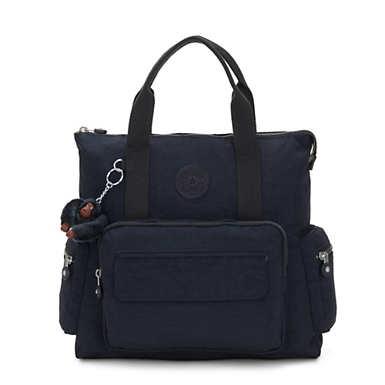 키플링 Alvy 백팩 Kipling Alvy 2-in-1 Convertible Tote Bag Backpack,True Blue Tonal