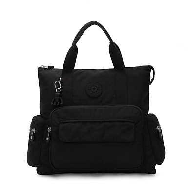 키플링 Alvy 백팩 Kipling Alvy 2-in-1 Convertible Tote Bag Backpack,Black Noir