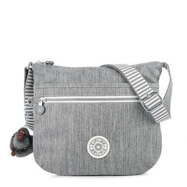 Arto Crossbody Bag - Grey Weave
