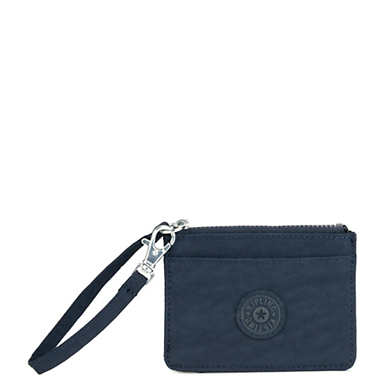 Cindy Wristlet - True Blue Tonal Zipper
