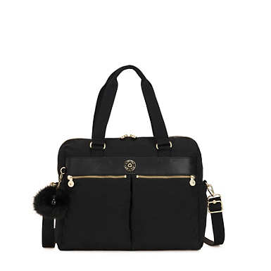 "Valeria 15"" Laptop Handbag - Black"