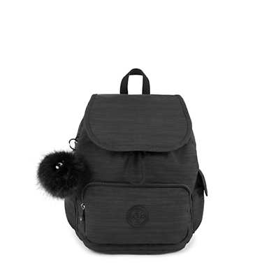 키플링 Kipling City PackSmall Backpack,True Dazz Black
