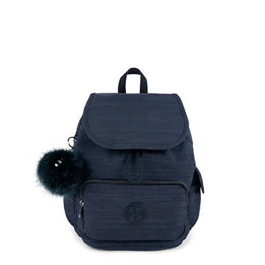 키플링 Kipling City PackSmall Backpack,True Dazz Navy