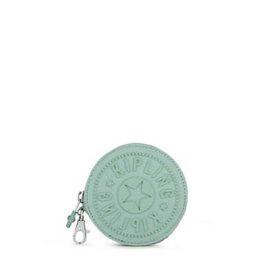 Marguerite Zip Pouch - Fern Green Tonal Zipper