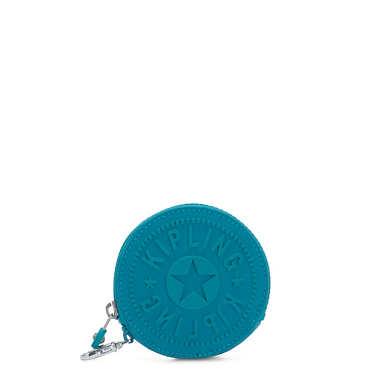 키플링 마거리트 파우치 Kipling Marguerite Zip Pouch,Turquoise Sea