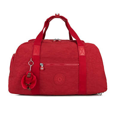 Palmero Weekender Convertible Duffel Backpack - Cherry Classic