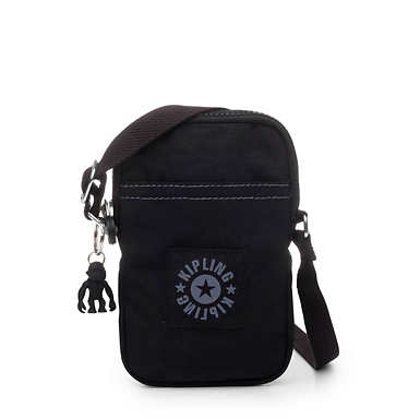 키플링 Kipling DalyPhone Crossbody Bag,Black Tonal Zipper