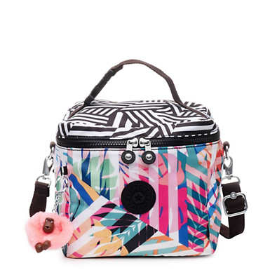 Graham Printed Lunch Bag - Black Print Combo