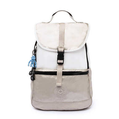 Kendall Convertible Backpack - Beige Combo
