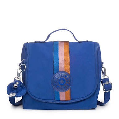Kichirou Lunch Bag - Blue Tropics Tonal Zipper
