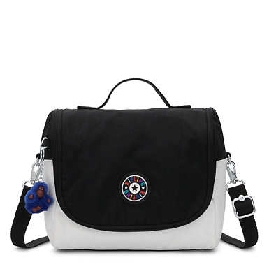 Kichirou Lunch Bag - Black white Combo