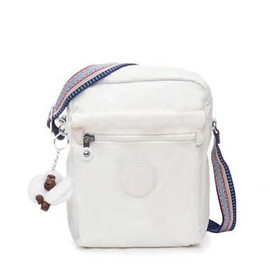 Livie Small Crossbody Bag - Alabaster Tonal Zipper
