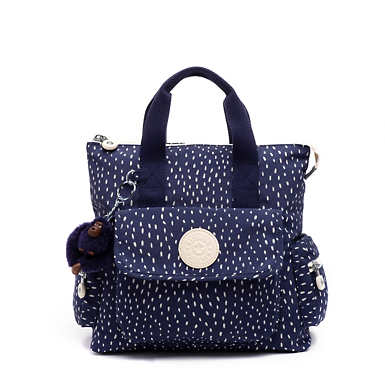 Revel Small Printed Convertible Backpack - Surreal Dot