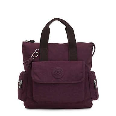 Revel Small Convertible Backpack - Dark Plum