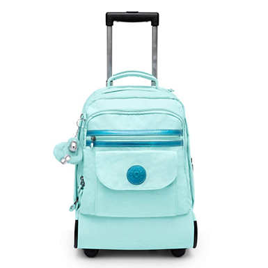 Sanaa Large Rolling Backpack - Fresh Teal
