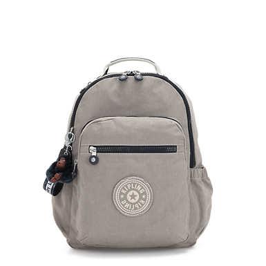 키플링 서울 고 15인치 랩탑 백팩 라지 - 스모크 그레이 Kipling Seoul Go Large15 Laptop Backpack,Smokey Grey