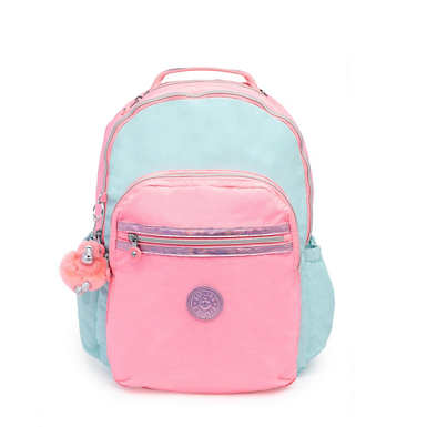 "Seoul Go Large 15"" Laptop Backpack - Teal Heart Combo"