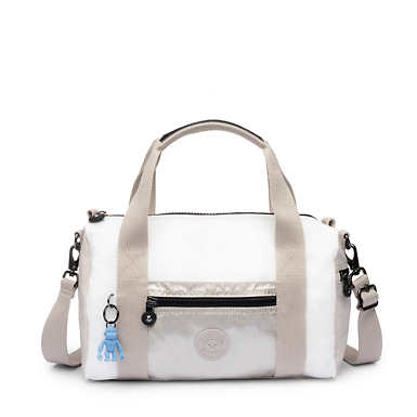 Tag Along Small Duffel Bag - Beige Combo