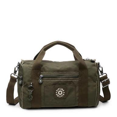 Handbag - Jaded Green Tonal Zipper