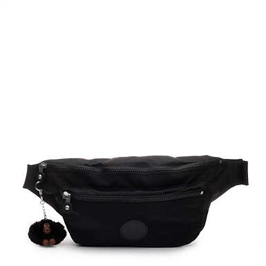 Extra Large Fanny Pack - Black Tonal Zipper