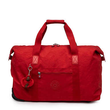 Art On Wheels Medium Rolling Tote Bag - Cherry Classic