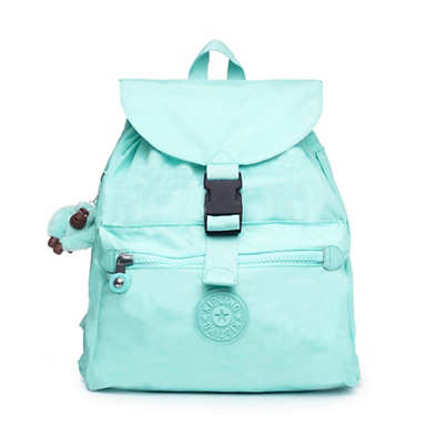 Keeper Backpack - Fresh Teal Tonal Zipper