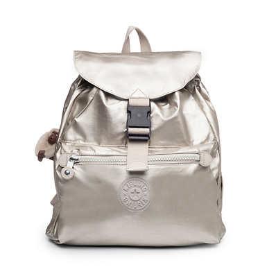 Keeper Metallic Backpack