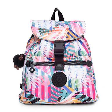 Keeper Printed Backpack - Patchwork Garden